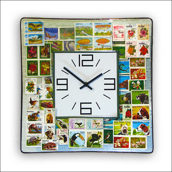 Stamps Wall Clock Nr. 6342