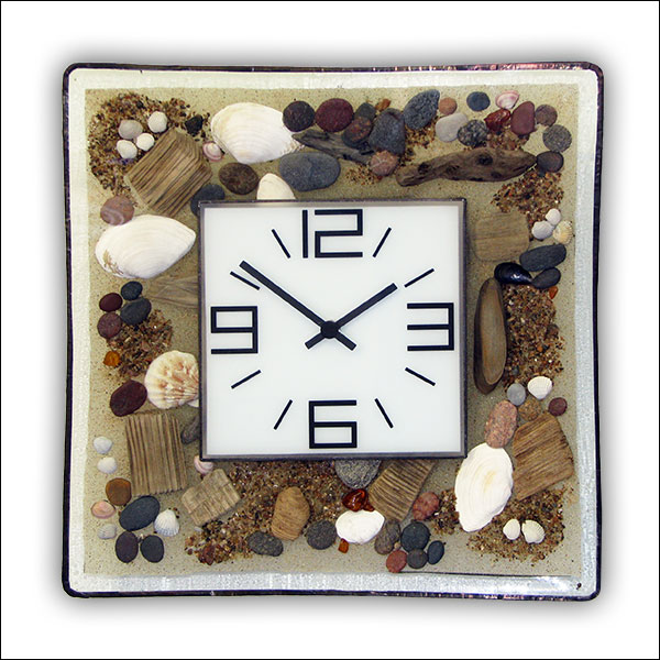 Beach Wall Clock Nr. 6521