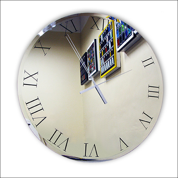 Oversized mirror wall clock Nr. 9456