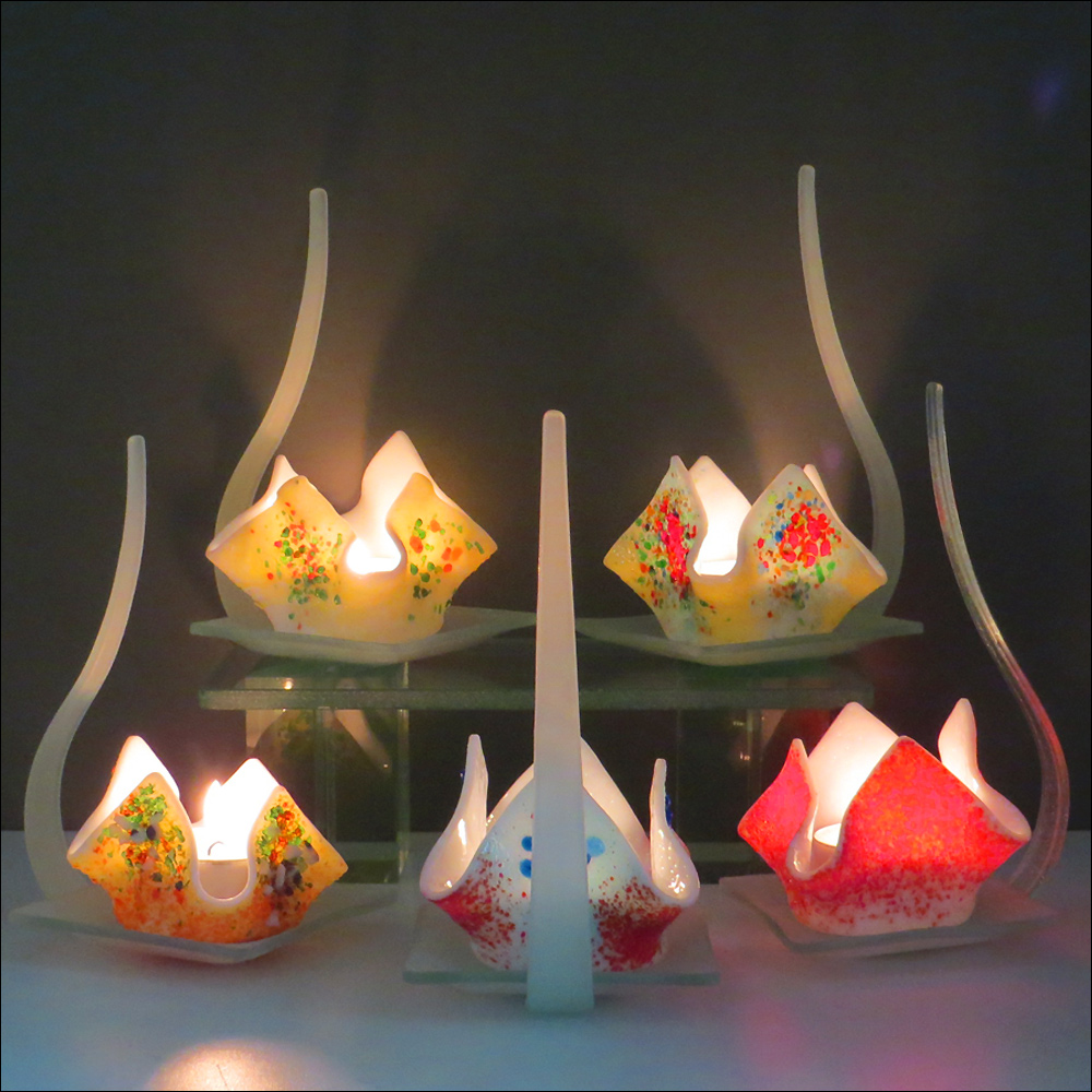 Flame Candle Holders